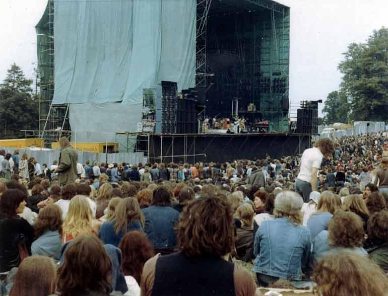 the 1975 knebworth concert