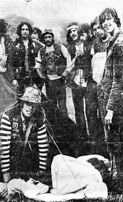 The Hells Angels : Bath Festival 1970