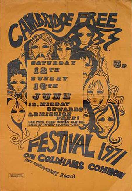 Cambridge Free Festival. 1971