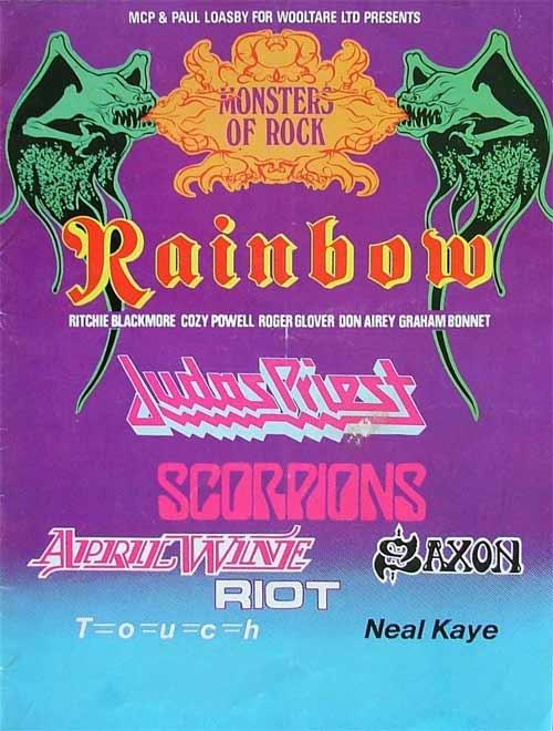 Monsters Of Rock Castle Donington 1980