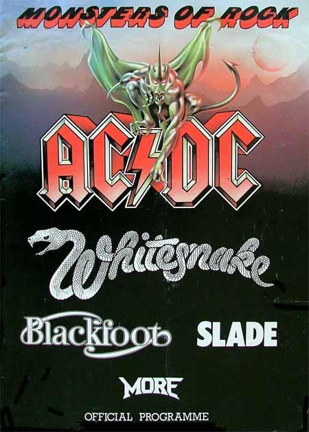 Monsters Of Rock Castle Donington 1981