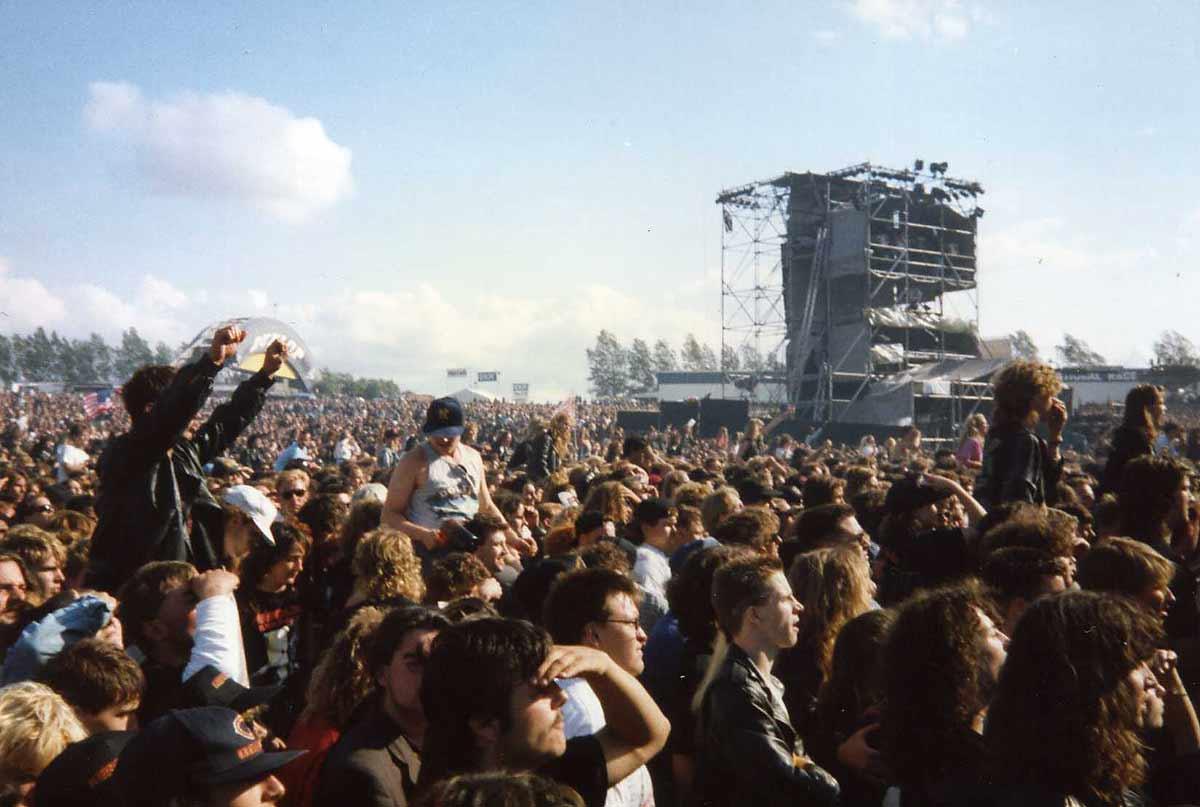 Monsters Of Rock Castle Donington 1991