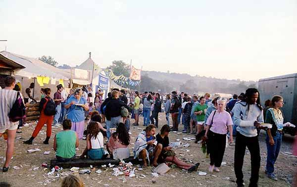 Glastonbury CND festival 1989